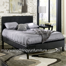 4FT 6 inches Double leather bed