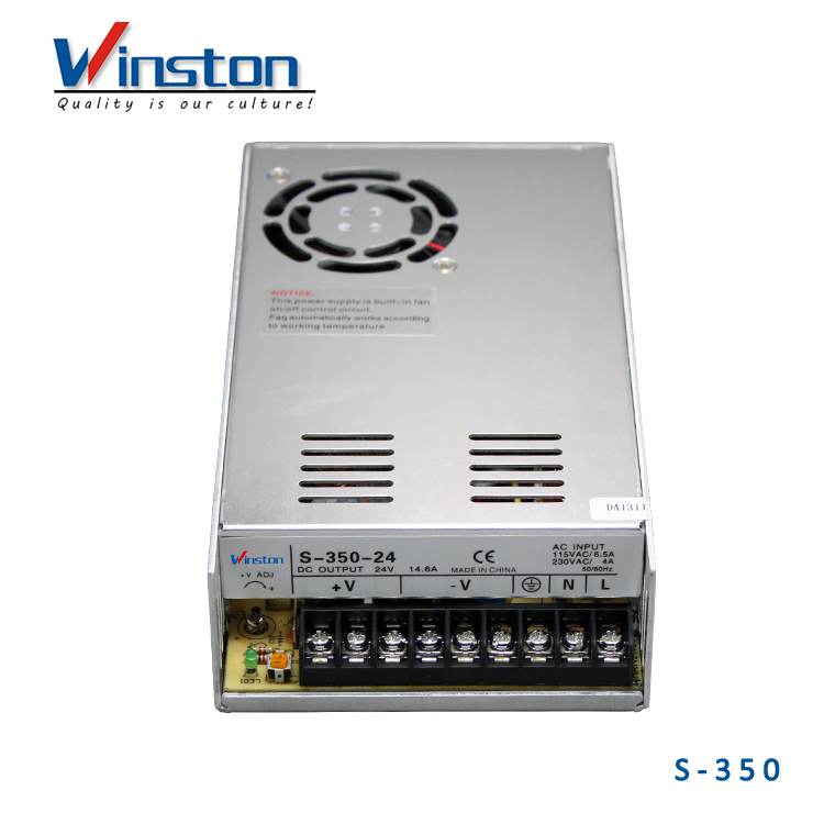 9V 12V 15V 18V 24V 27V 36V 350W S-350 DC Switching Power <strong>Supply</strong>