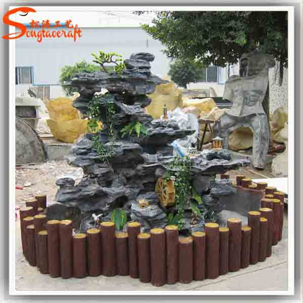 Home waterfall fountains decorative glass indoor fountain and waterfalls  indoor artificial waterfall fountain statues .