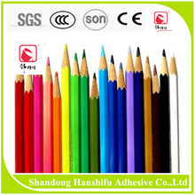 Water-based 100% Eco-friendly pencil adhesives/ wood glue to cosmetic pencil