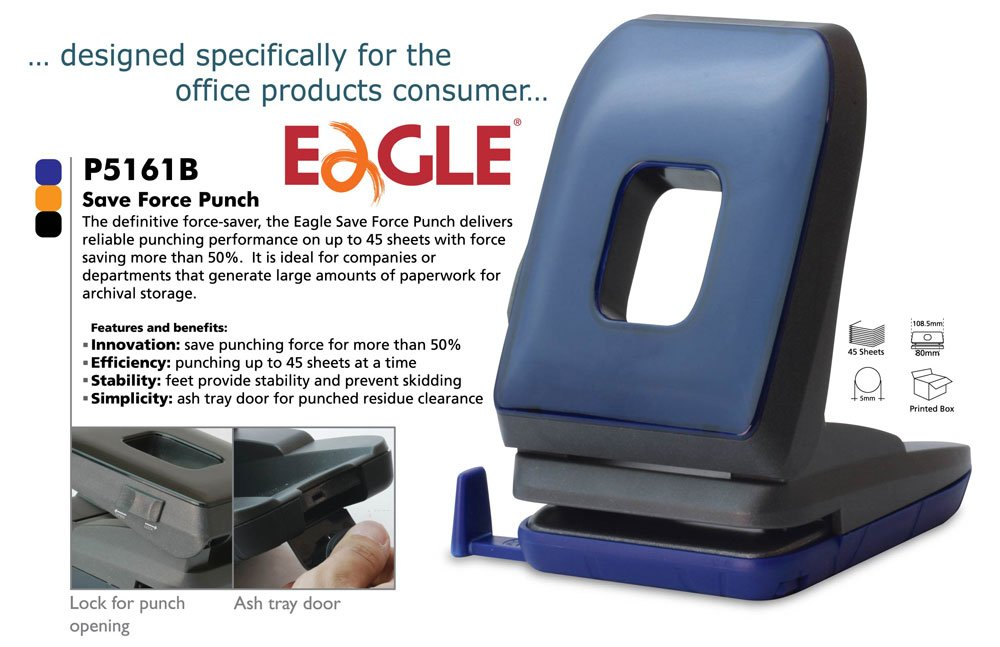 Save Force Punch,Energy Saving Hole Puncher - P5161b - Buy Punch Product on  Alibaba com