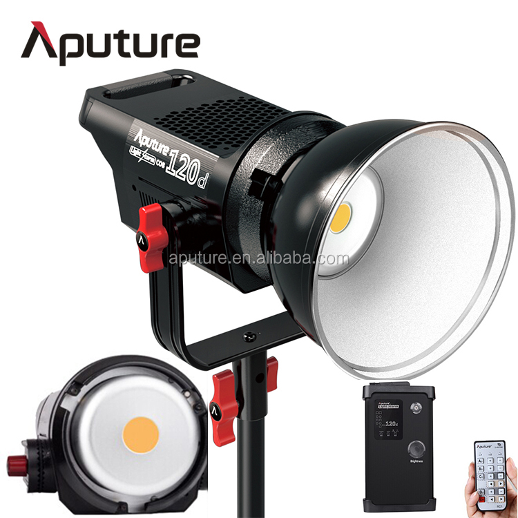 Aputure daylight LS C120d photography light bulbs, light bulb photography, best light bulbs for video recording