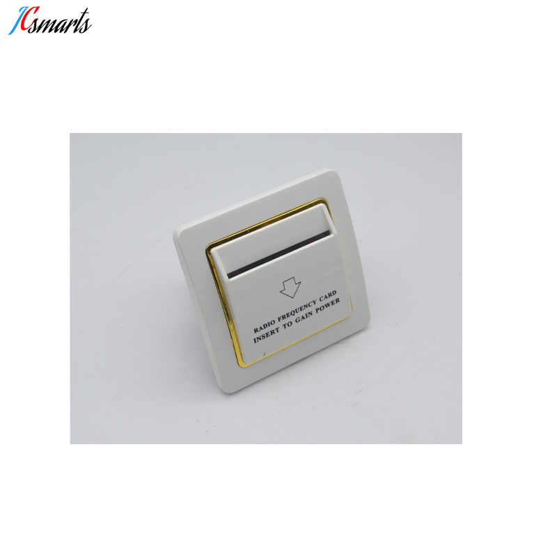 Access Control Accessories Access Control Able 13.56mhz White Hotel Mifare S50 Rfid Card Switch With Room Number And Check In Time Limit Function Energy Saver Saving Switch