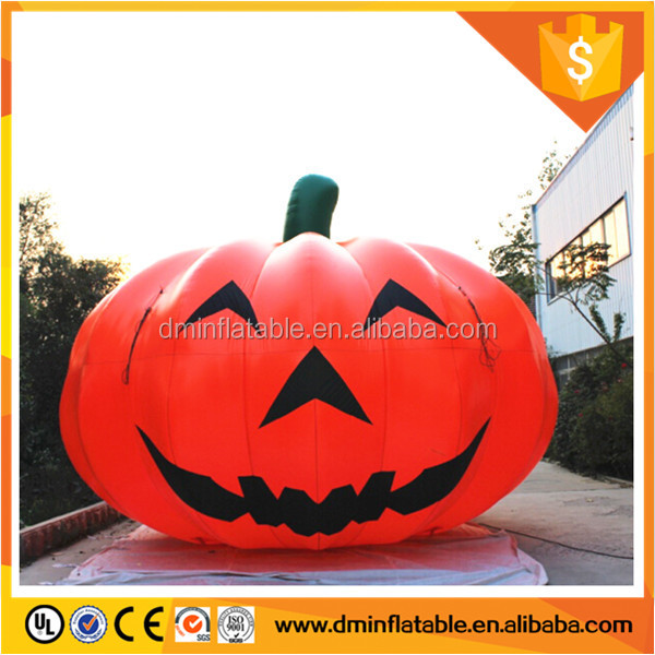 Giant Inflatable Smilling Pumpkin Holiday Decorations