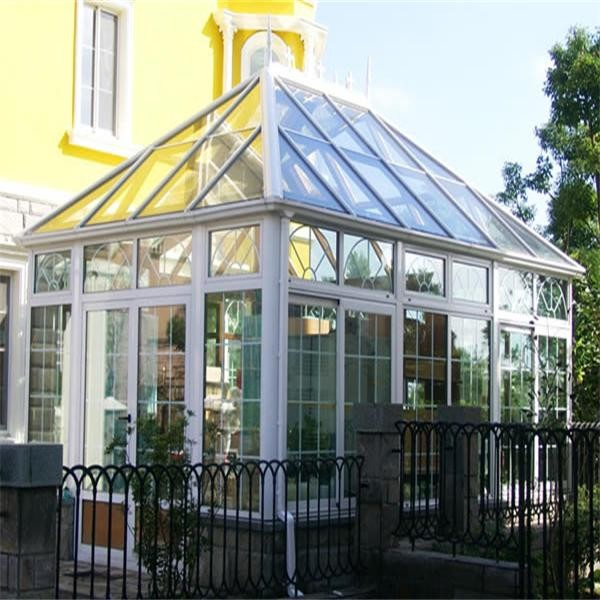 Guangzhou Factory Aluminum Architecture Design Glass Houses For ...