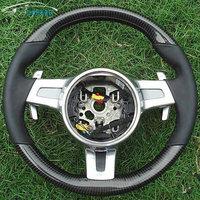 High quality carbon fiber steering wheel for porsche
