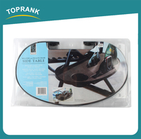 Toprank As Seen On TV Portable Adjusts To Fit More Relaxer And Beach Chair Side Table
