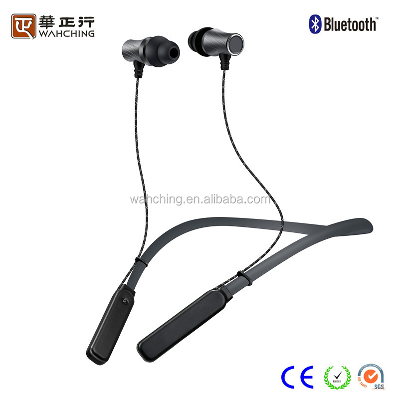 Fashional neckband stereo wireless bluetooth earphones wireless headset sports bluetooth headsets