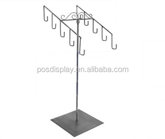 Counter top metal display stand for jewelry | ornaments | headgear