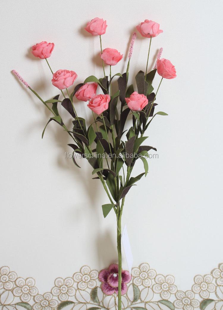 Handmade Rose Flower Marking,Small Foam Flowers Rose Balls ...