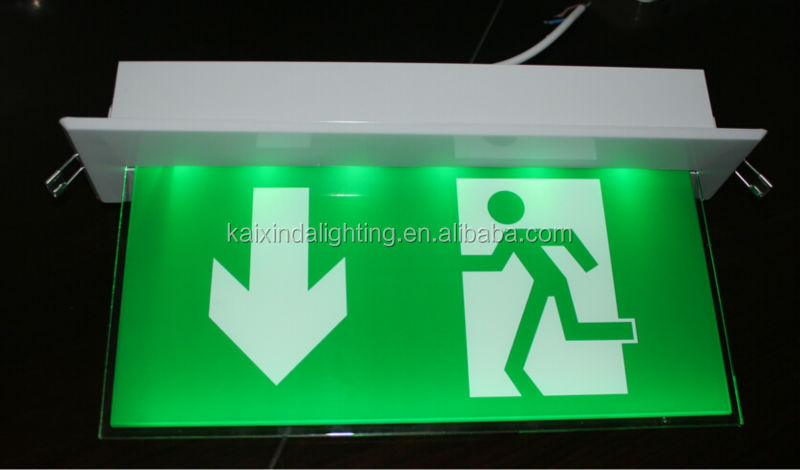 Led Emergency Exit Signs 3w Smartled Se-0301 Series Ce Rohs 2 ...