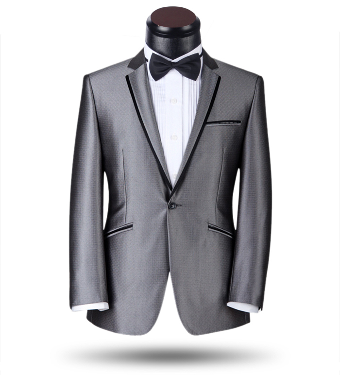 Fantastic 100% Wool Single Breasted Blazers Costume Homme Marriage Slim Fit Suits Wholesale Drop Shipping