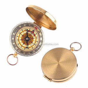 DIHAO Bulk Price Classic Pocket Watch round compass mini compass