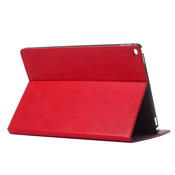 luxury  multifunction real leather case for ipad