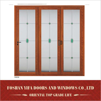 small ventilated interior louvered bifold folding doors