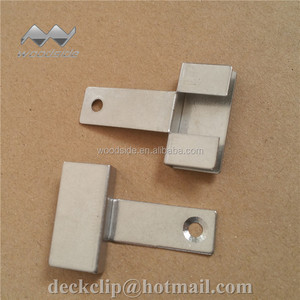 Composite decking hidden stainless steel FASTENER