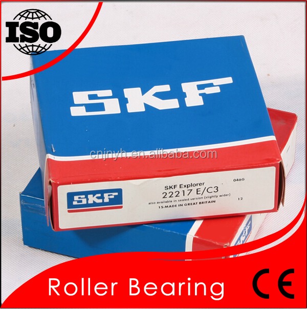 Double Row Spherical Roller Bearing SKF 22217 Competitive Price 22217 Bearing