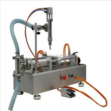 Pneumatic piston filler ,coconut oil bottle filling machine