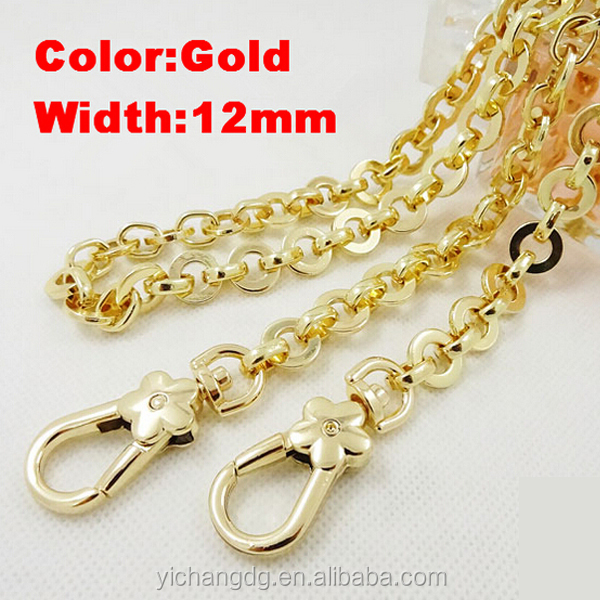 Write Your Name On A Gold Chain, Men's 5.0mm Wide Stainless Steel Necklace Curb Chain Link Gold 14~40 Inch