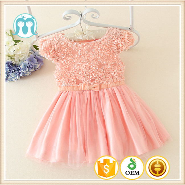 ddea4e44753 Lovely Flower Casual Baby Girl Dresses India For One Year Baby Party  Dresses Made In China - Buy One Year Baby Party Dresses,Casual Baby Girl ...