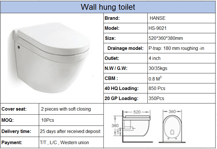 Hs 9021 Bathroom Toilet Cubicle Toilet Cubicles Size Wall Hung