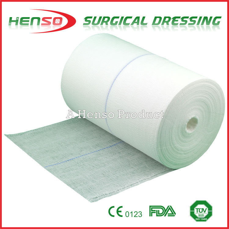 Henso Jumbo Absorbent Gauze Roll in 1000m or 2000m