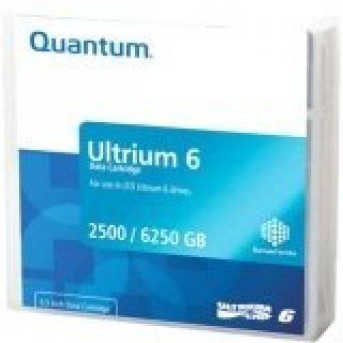 QUANTUM #MR-L6MQN-20 LTO-6 - 2.50 TB (Native) / 6.25 TB (Compressed) - 2775.59 ft Tape Length - 20 Pack