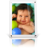 4x6 5x7 Acrylic Magnetic Photo Frame Picture Frame