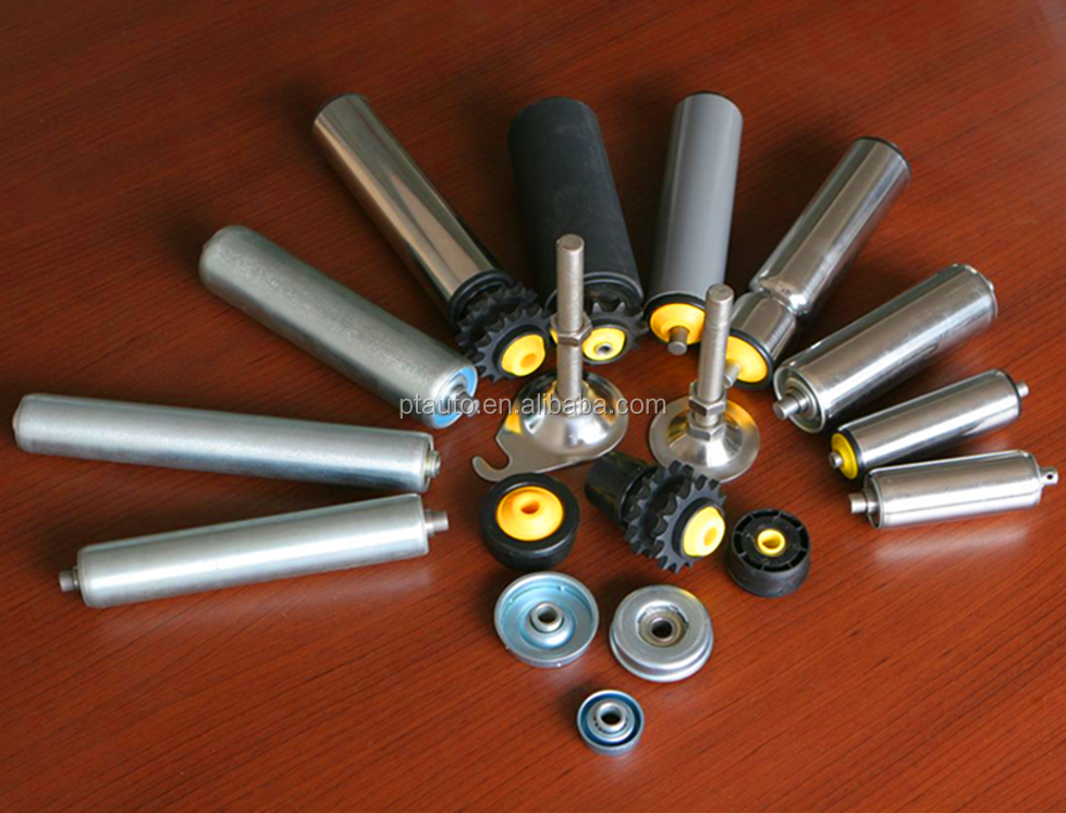 Conveyor rollers, gravity rollers, drive rollers
