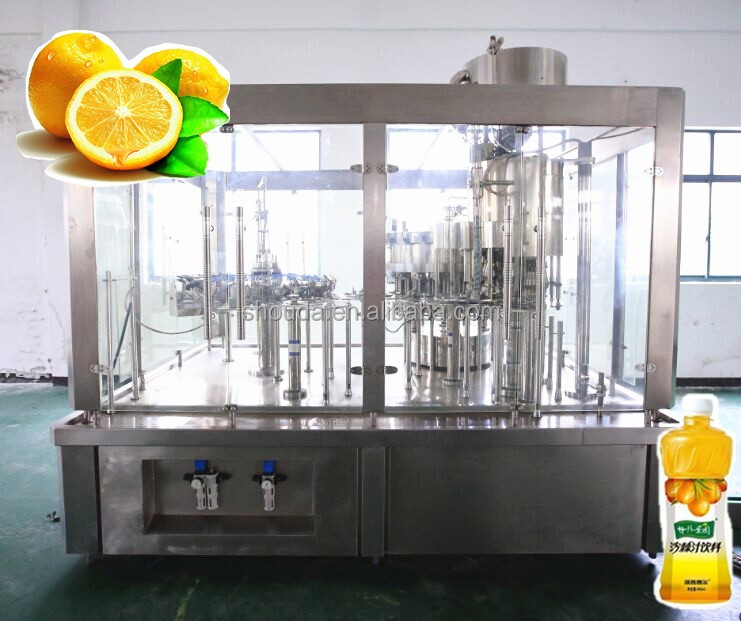 Shanghai Full-auto green tea bottling processing and filling machine