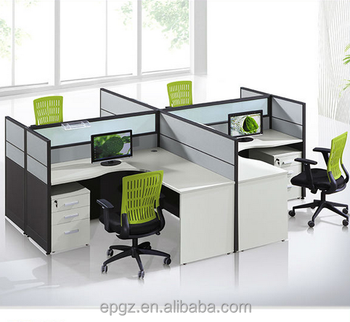 small office workstations. Fashion 4 Clusters Office Workstation,MDF Workstation For Small Workstations