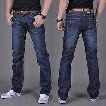 2016 New mens jeans da marca de jeans azul escuro homens calças masculinas calça casual plus size corredores jean calça jeans motociclista