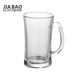 19oz giant beer glass mug, glass beer mugs with handles, 20oz glass mug GB094620