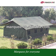 Hot sale 10 person outdoor military waterproof tents/green military canvas tents