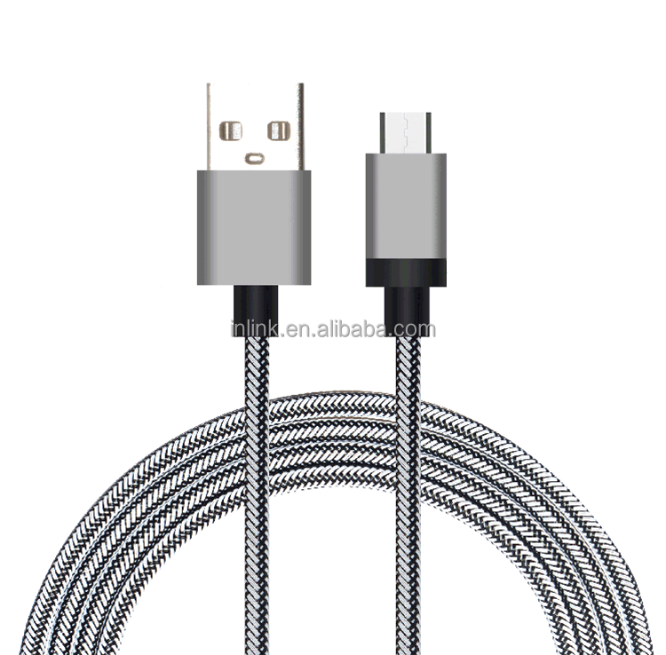 Micro USB Cable, 3ft Nylon Braided Extremely Durable Micro USB Cable High Speed USB A Male to Micro B Sync and Charging Cables