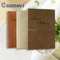 GuanMei Cute Heart Fabric Cover album Book Bound Photo Album With 4R 3up Sheets hold 300 Photo