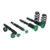 Stainless steel Adjustable Coilover Suspension Kits shock absorber CN-E46 for 01-05 BMW E46