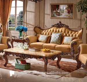 simple antique sofa set design living room furniture with couch