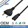 SIPU EU 2 Pin AC Cable / Power Cord 2 Prong 1.2M