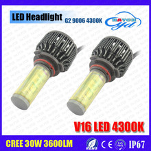 Brand New HA CONDOTTO il faro 60 W 7200LM H1 H4 H7 H11 9004 9005 9006 9007 880 881 led headlight 7200lm
