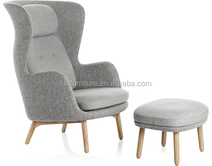 High Back Lounge Chair Scandinavian Design Livingroom