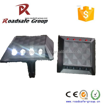 Casting Aluminum cat eye reflective road studs pavement Aluminum Marker