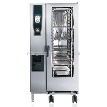 Commercial Kitchen Equipment Electric Combi-steamer Oven Scc We 201e ...