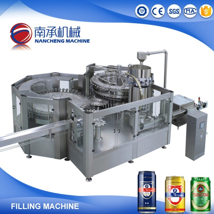 Manufactured China Automatic Aluminium Can Filling And Sealing Machine