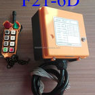 Wireless rf remote control F21-6D for crane,overhead crane,gantry crane