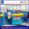 Roof Building Material Making Equipment/plane roof tile forming machine/perforated metal roof sheet machine