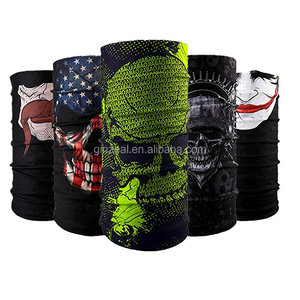 Customized Logo Printing Polyester Multifunctional Magic Tube Scarf Bandana