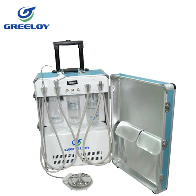 Dentist Move Freely Dental Instruments Portable Dental Unit