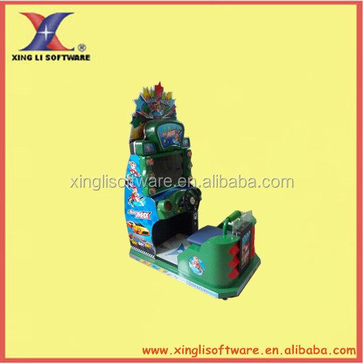 simulator arcade racing car game machine for kid