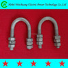 China Supplier High Qualit Hot Dip Galvanized Standard U Bolt(round and square type) /Link Fitting / Line Hardware